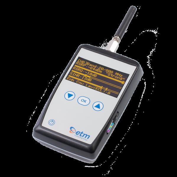 Handhållen cellulär signalanalysator ETM770